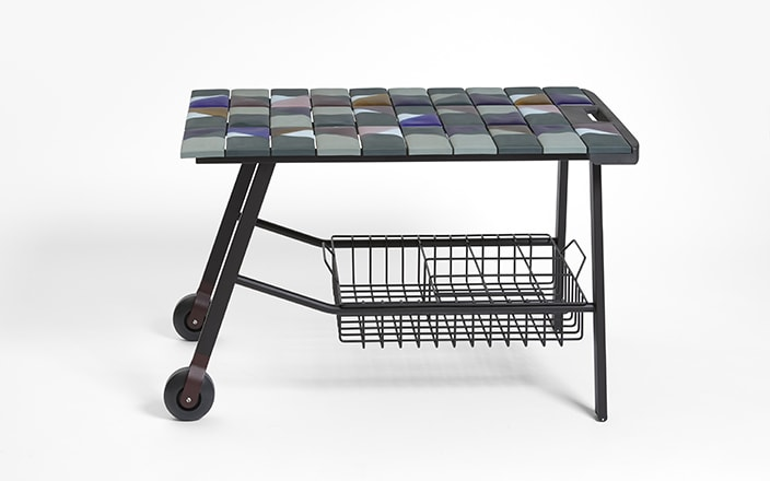 Hella Jongerius Tiles trolley