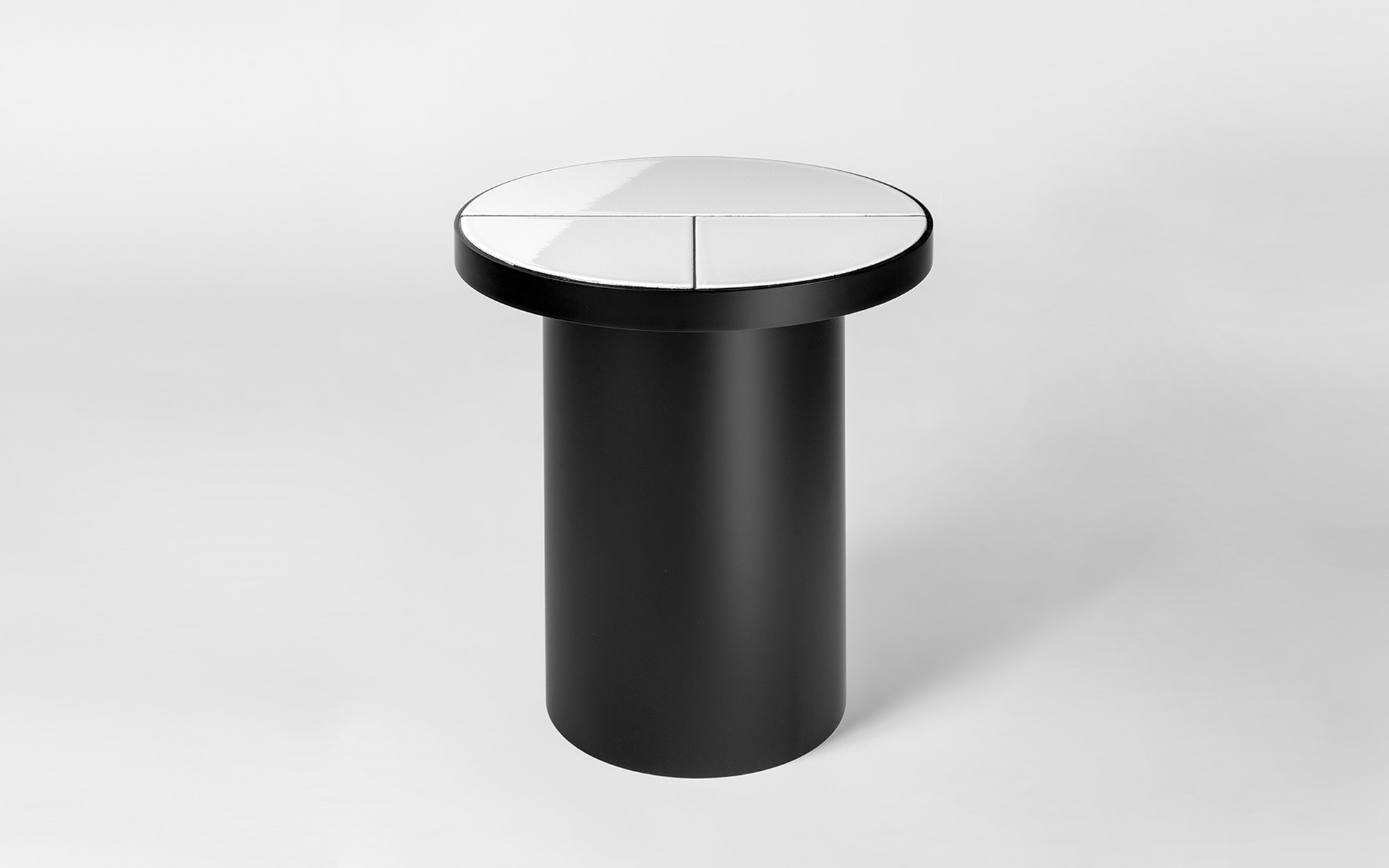 Pierre Charpin Fraction - monochromatic Side Table