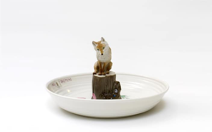 Hella Jongerius Plate with fox