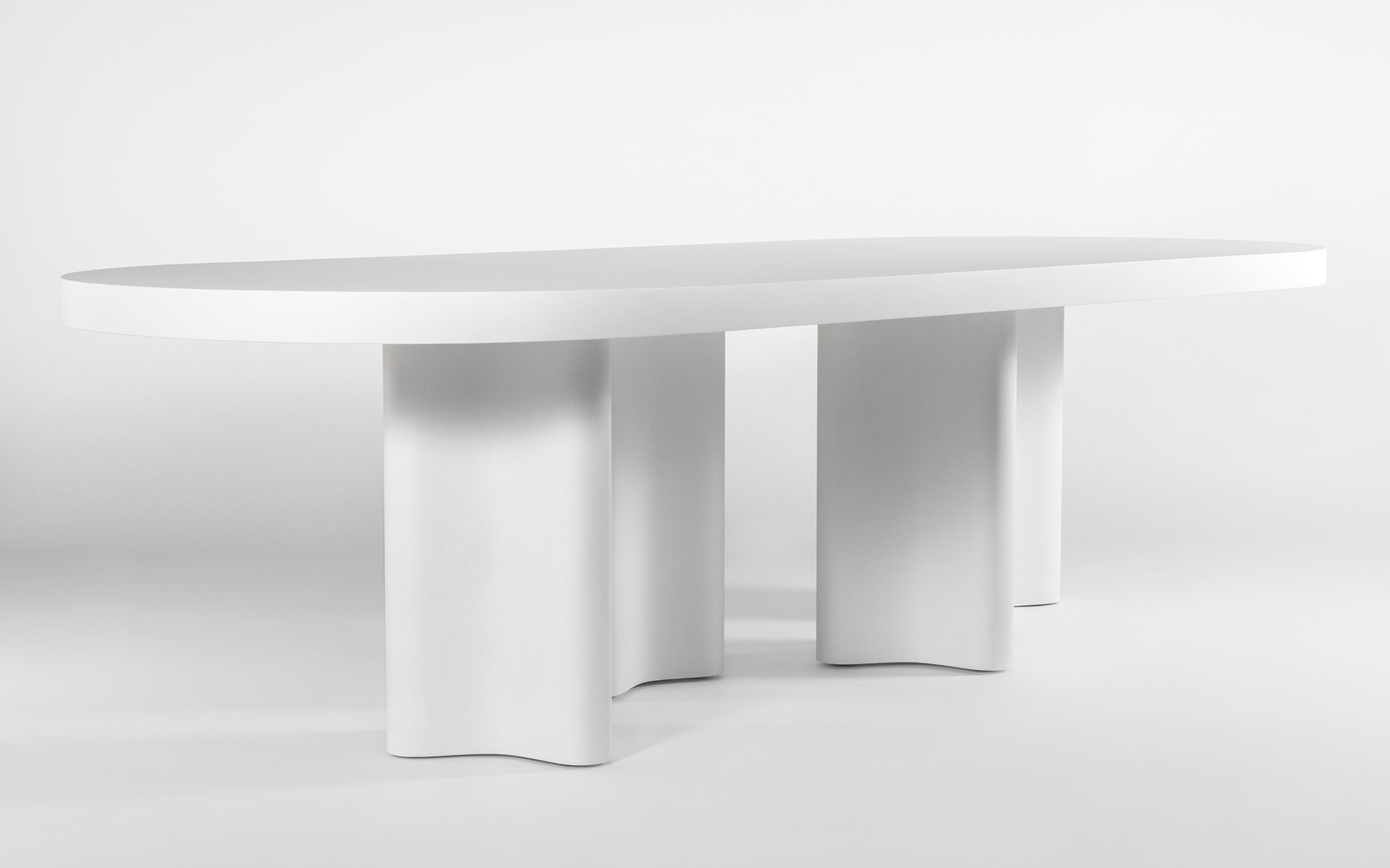 François Bauchet Azo oval table