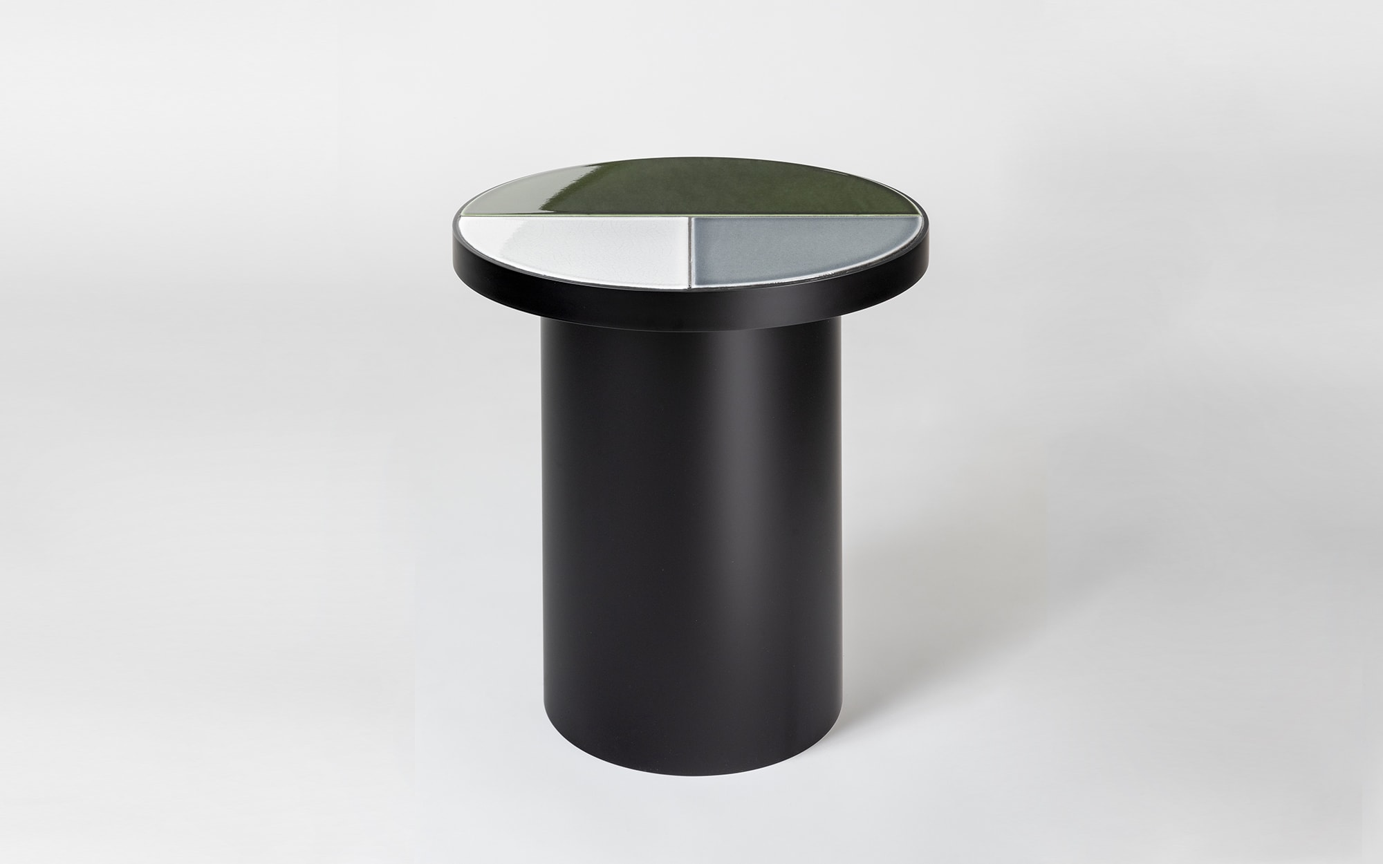 Pierre Charpin Fraction - multicolor Side Table