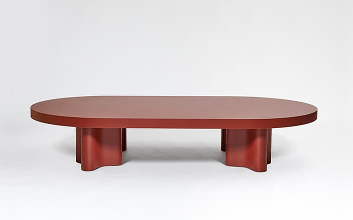 François Bauchet Azo oval coffee table