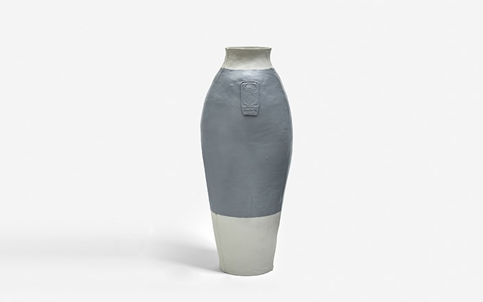 Hella Jongerius Colored Vases RAL 7001 (PEARL GREY)