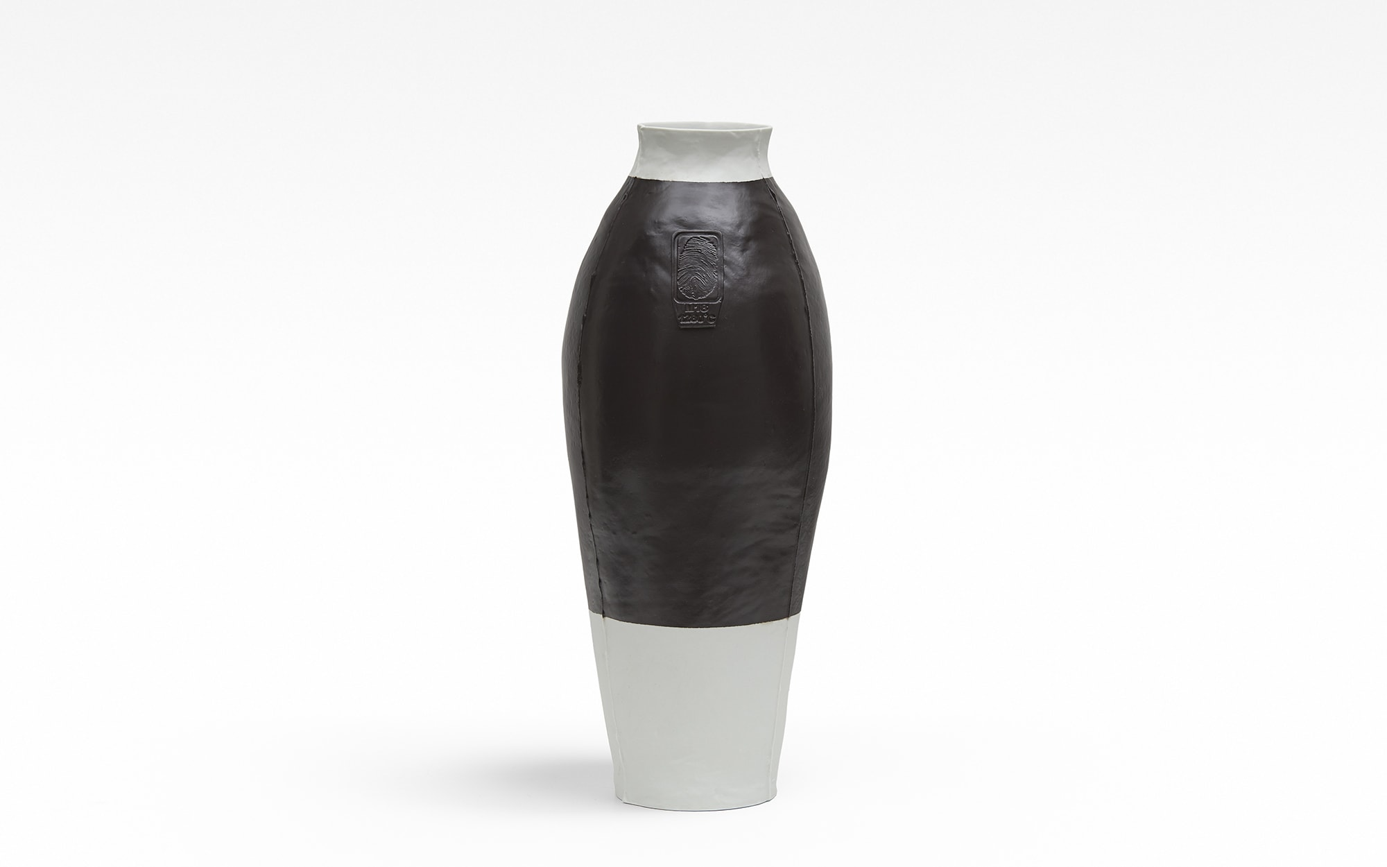 Hella Jongerius Colored Vases RAL 8019 (GREY BROWN)