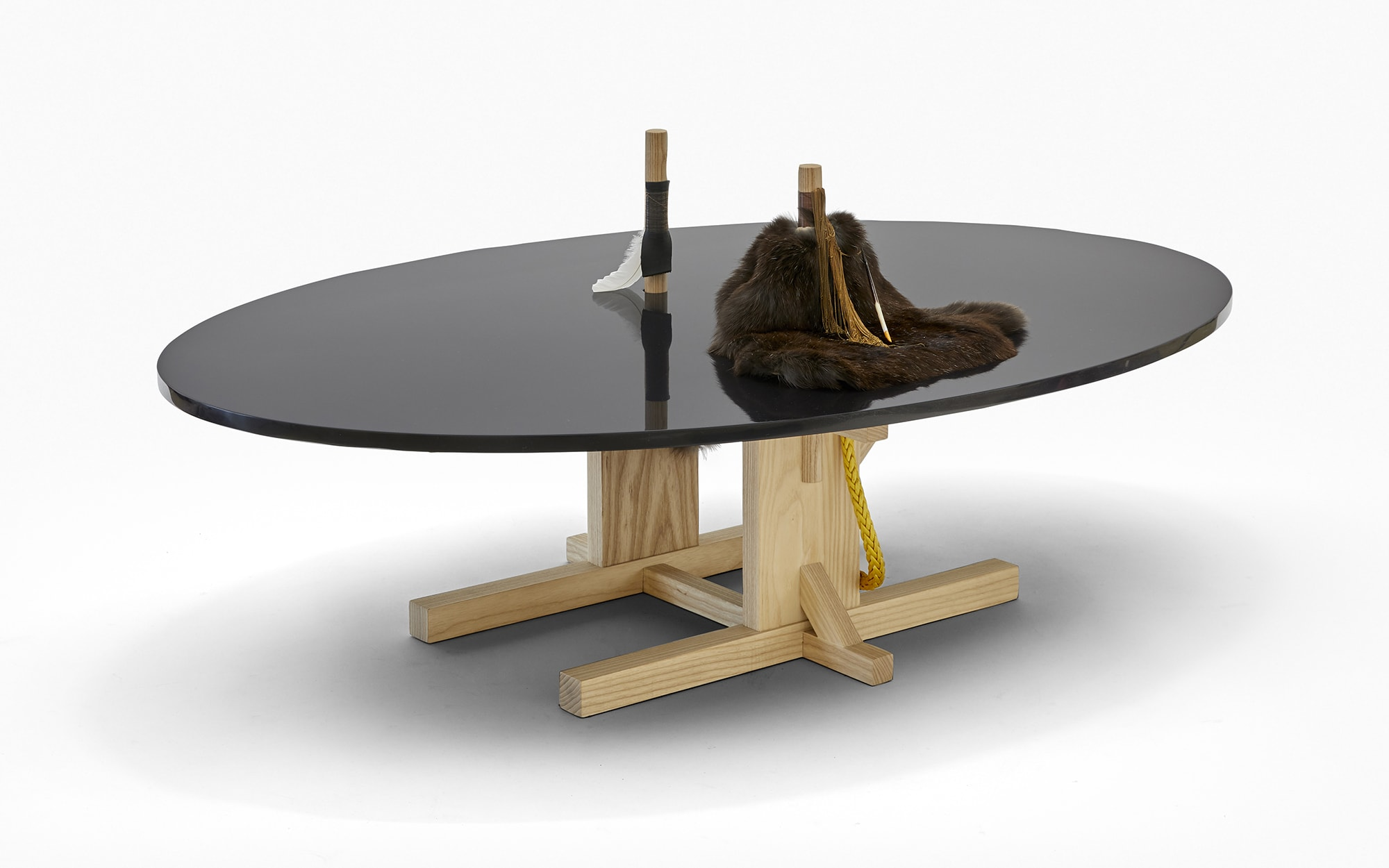 Brynjar Sigurðarson The Silent Village Coffee table