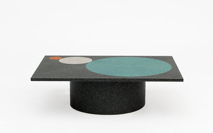 Pierre Charpin Crescendo Black Coffee Table