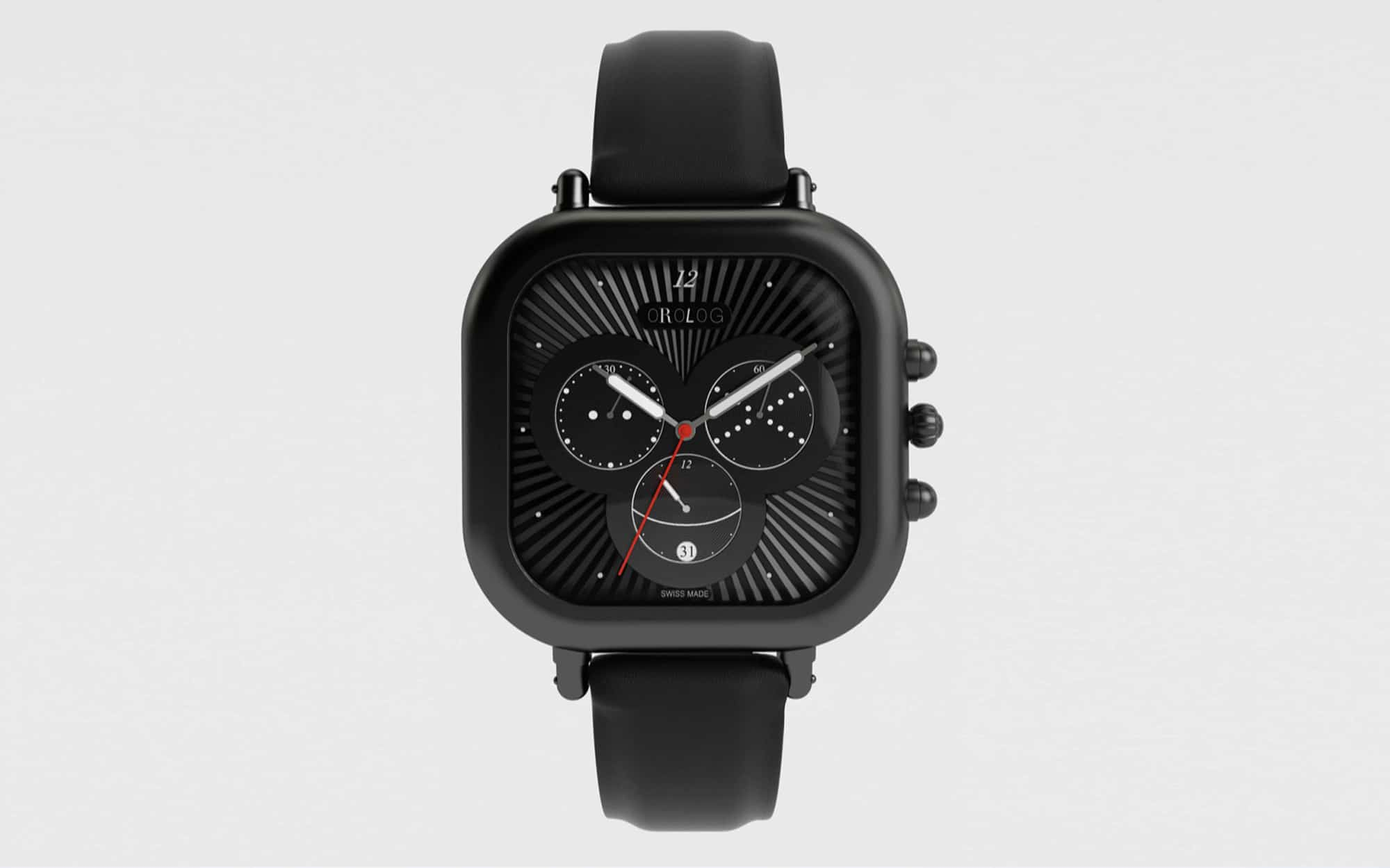 Jaime Hayon Miko Wristwatch (matt black)