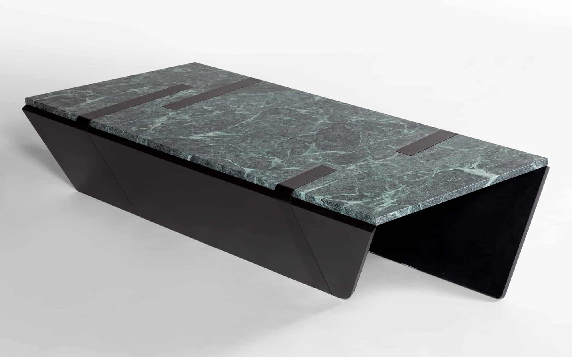 David Dubois Strap'' Coffee Table multicolour