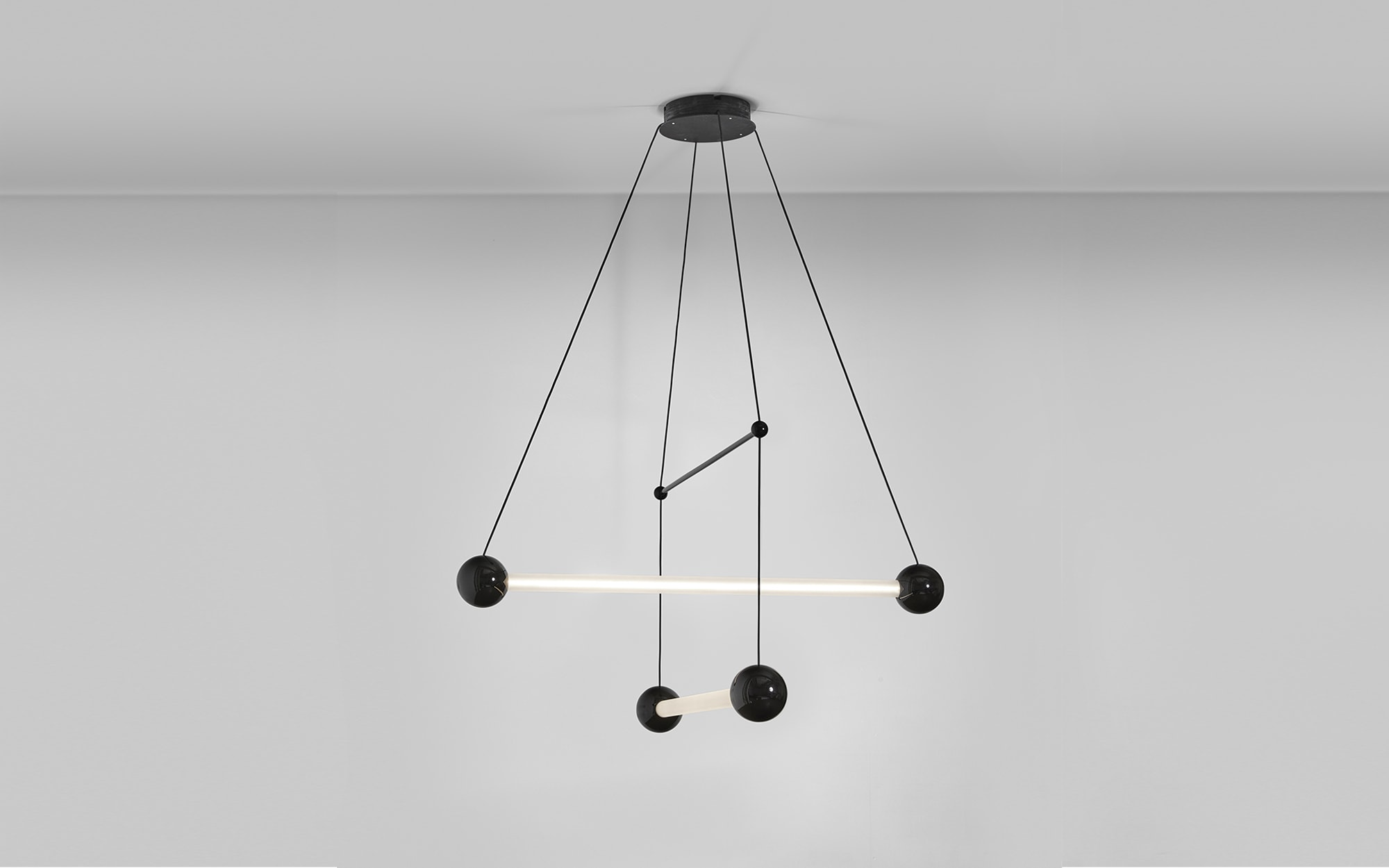 Pierre Charpin Trapeze 2 Ceiling light