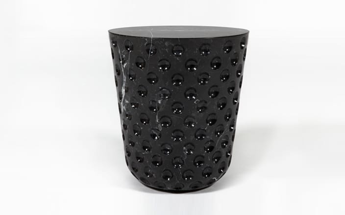 Jaime Hayon Game On Side Table - Black Marble