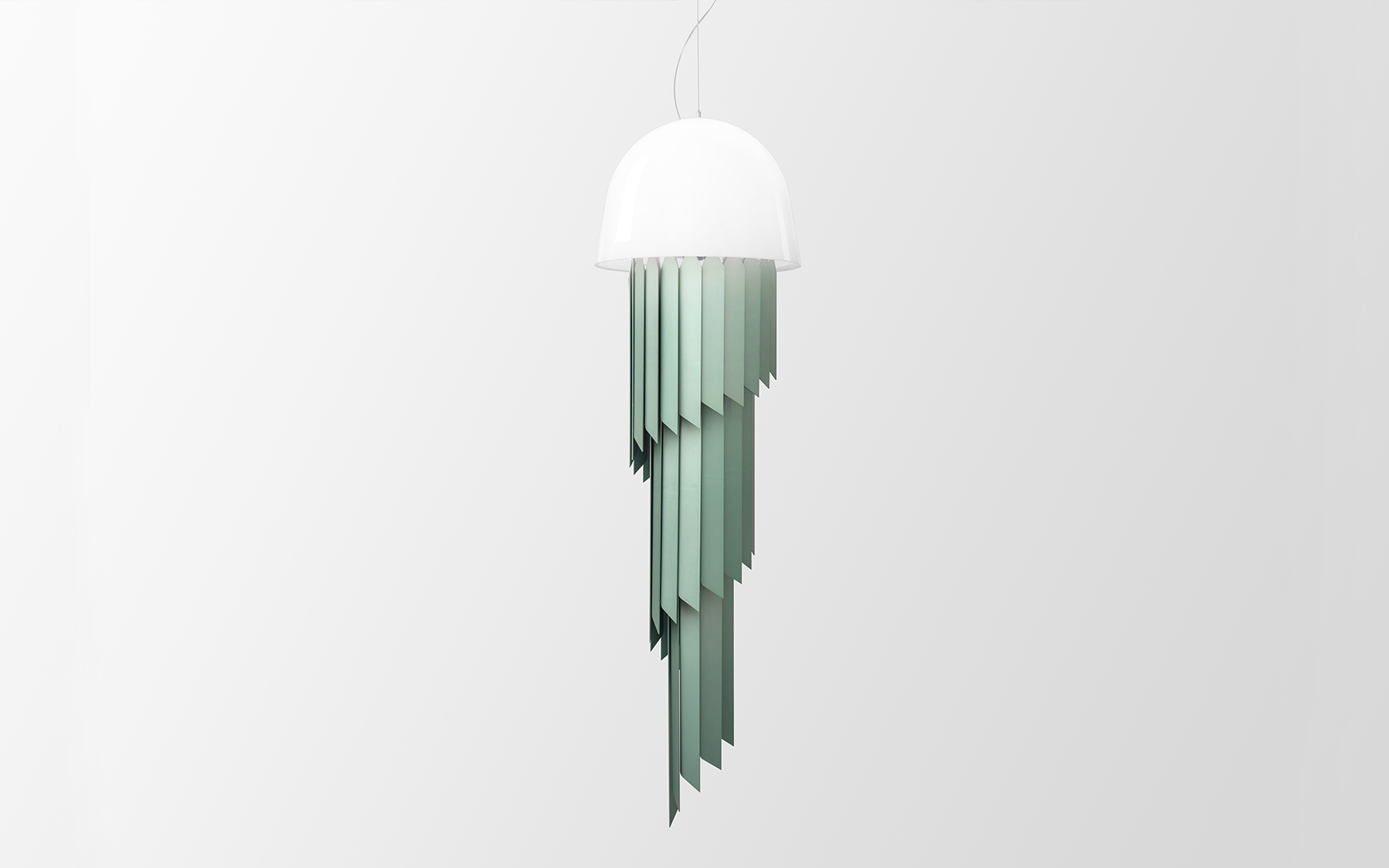 Jean-Baptiste Fastrez Jellyfish ceiling light